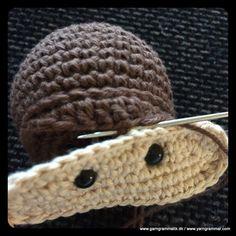 Crochet Books, Knit Crochet, Cross Stitch Patterns, Knitting Patterns, Crochet Monkey, Creative Knitting, Rope Basket, Diy And Crafts, Beanie