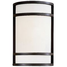 Bay View Outdoor Wall Sconce by Minka-Lavery at Lumens.com / $159.90 / 12H x 7.75w x 4.5D