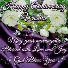Happy anniversary wishes...