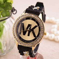 New Arrival Awesome Good Price Gift Great Deal Designer's Trendy Silicone Chain Stylish Ladies Hot Sale Quartz Watch [6407505348]