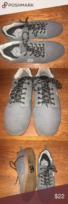 842f87fac40b44 Shop Men s Etnies Gray size 11 Athletic Shoes at a discounted price at  Poshmark. Description  Etnies suede and leather in excellent condition size  Sold by ...