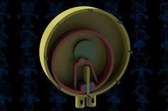 Pump Cochrane Mechanism - SOLIDWORKS,STEP / IGES,Parasolid - 3D CAD model…