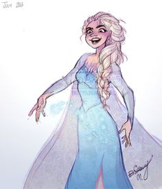 As You Get Colder by *Britt315 on deviantART Elsa the snow queen from the upcoming disney movie Frozen