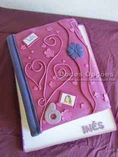 Doces Opções: Bolo diário da Violetta