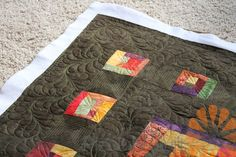 Piece N Quilt: Machine Quilting Feathers by Natalia Bonner