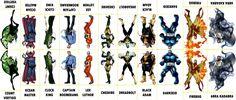 D.C. Villains Character Sheet 056