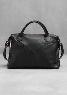 leather shoulder bag (& other stories)
