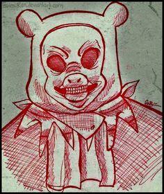 Man-Bear-Pig {Candle Cove} by TsuinsuRan.deviantart.com on @deviantART