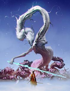 Dark Fantasy, Fantasy Art, Witcher Wallpaper, Figurine Dragon, Soul Saga, Drakengard Nier, Mythical Dragons, Dark Souls Art, Dark Drawings