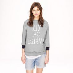 Public School x J. Crew sweatshirt (details on the collab -- http://chicityfashion.com/designer-collaborations-2/)