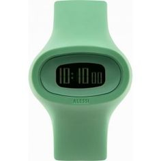 Buy the Alessi Men's Jak Polyurethane Green Designed by Karim Rashid Watch, a cool mens watch by Alessi This funky mens watch is currently in stock - buy this funky watch securely on Cool Funky Watches today. Karim Rashid, Simple Watches, Cool Watches, Dezeen Watch Store, G Shock Watches, Wearable Device, Alessi, Best Watches For Men, Article Design