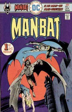 Man-Bat #1, cover by Jim Aparo.