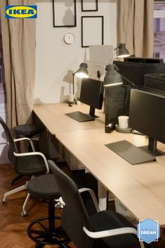 In der zweiten Folge DESIGN DREAM drehte sich alles ums gute Arbeiten. Kann auch dich das Gewinnerdesign des Büros überzeugen? Ikea Design, Home Office, Conference Room, Inspiration, Furniture, Home Decor, Mini Things, Ad Home, Homes