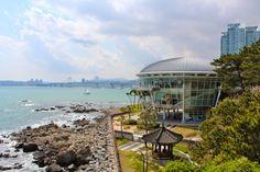 Dongbaekseom . Haeundae Beach . Busan