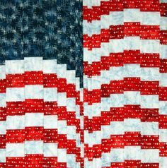 Free pattern day: Patriotic and flag quilts