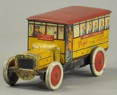 I just discovered this FRY CHOCOLATE BISCUIT TIN BUS on LiveAuctioneers and wanted to share it with you: www.liveauctioneers.com/item/56544406