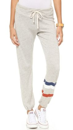 SUNDRY Classic Sweatpants - at home lounging.