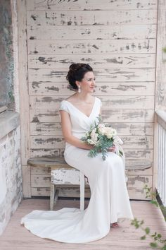 Race and Religious bridal portraits : Amy Kuschel wedding gown : photo by Jacqueline Dallimore