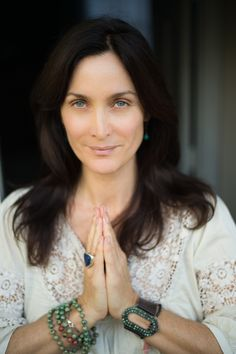 Carrie-Anne Moss via AnnapurnaLiving.com #AnnapurnaLiving #CarrieAnneMoss Photo by Catherine Just