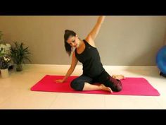 25 Minute Pilates Workout for Beginners 1 - YouTube