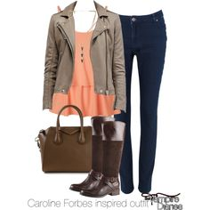 Caroline Forbes inspired outfit/The Vampire Diaries