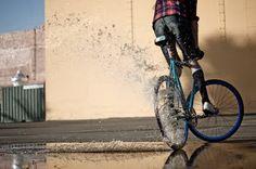 Splash....  #fixie #fixedgear #bike