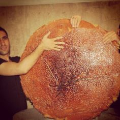 is this the world's largest tadigh??? Wow!