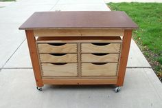 Tool Cart Workbench - by RPhillips @ LumberJocks.com ~ woodworking community
