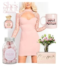 """Pink LOVERS ♡"" by ladybates ❤ liked on Polyvore featuring beauty, Bando, BCBGMAXAZRIA, LSA International, Tory Burch, love, Pink, romantic, lace and girly"