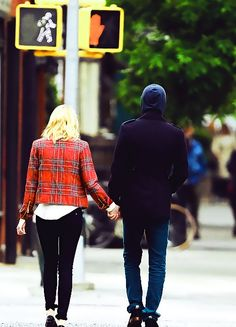 Andrew garfield and Emma stone NYC cuteness!
