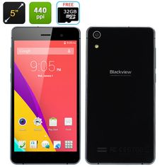 4 Blackview Omega V6 5 Octa Core Android Smartphone 3g 18mp 2gb 16gb