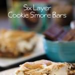 """Six Layer Cookie S'mores Bars and """"Peaunt Butter Comfort"""" Review"""