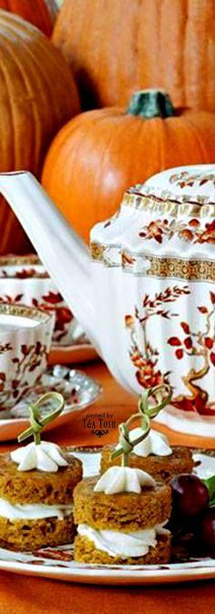 ❈Téa Tosh❈ ❧ Autumn Tea Party ❧