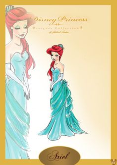 Designer Ariel - this is the only one we missed that I really wanted!! So beautiful! She'd make a nice addition to Rapunzel and Belle!
