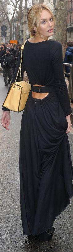 Candice Swanepoel ♡...lower back flirt ♡ ..Chloe Bag ♥♥♥♥♥♥♥