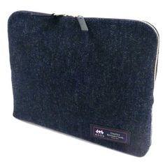 WOOL CLUTCH BAG / WOOL (MOON) x LEATHER / Men's bag