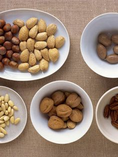 Nuts are an excellent source of #vitamins and anti-oxidants - and also a reliever of #stress. #Health Increase Progesterone, Progesterone Foods, Dog Food Recipes, Snack Recipes, Easy Recipes, Healthy Recipes, Ovarian Cyst Treatment, Healthy Snacks, Gluten Free Foods