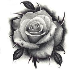 pink tattoo - New Tattoo Models Tattoo Pink, New Rose Tattoo, Tatoo Floral, Rose Drawing Tattoo, Rose Flower Tattoos, Rose Drawings, Tattoo Flowers, Hand Tattoos, Feather Tattoos