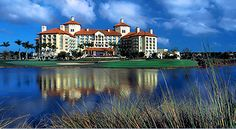 The Ritz-Carlton Hotel and the Tiburon Golf Course (site of the Franklin Templeton Shootout Golf Tournament every December)