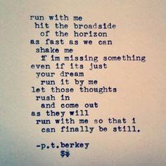 Run with me @ptberkeywords