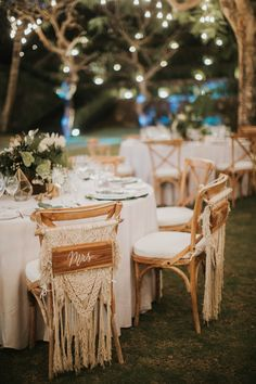 Wedding Decorations Chairs Receptions Threshold Patio 344 Best Chair Decor Images Macrame Styling Ideas For A Boho Onefabday Com Bohemian