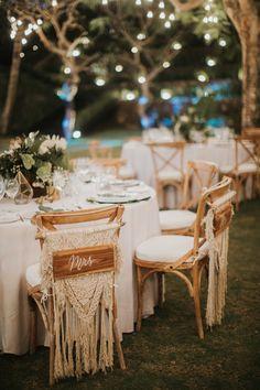 Macramé Styling Ideas For A Boho Wedding