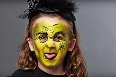 Maquillaje De Bruja Para Nina Halloween En 2018 - Maquillaje-bruja-para-nia