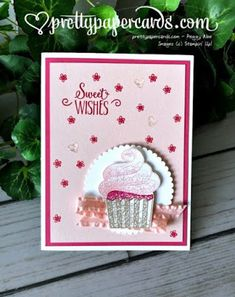 Stampin& Up! Cupcake Birthday & Peggy Noe & stampinup Stampin & # Up! Cupcake Birthday & Peggy Noe & stampinup The post Stampin & # Up! Cupcake Birthday & Peggy Noe & stampinup appeared first on DIY. Handmade Birthday Cards, Happy Birthday Cards, Valentine Day Cards, Birthday Wishes, Card Birthday, Birthday Quotes, Birthday Crafts, Birthday Images, Birthday Greetings