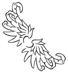 angel-wings-tattoo-outline.gif: Keaton's blog Archangel Tattoo, Demon Art, Tattoo Outline, Outlines, Angel Wings, Bird Art, Animated Gif, Animation, Tattoos