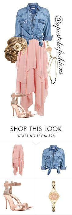 """Apostolic Fashions #1720"" by apostolicfashions ❤ liked on Polyvore featuring Soul Cal, Gianvito Rossi, Emporio Armani and Chicnova Fashion"