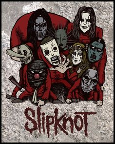 Slipknot Poster by Nukui Bogard on CreativeAllies.com