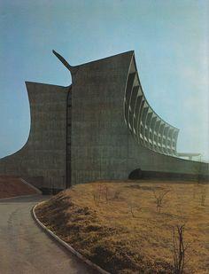 Technical College, Busto Arsizio, Italy, 1963-64 by Enrico Castiglioni together with Carlo Fontana