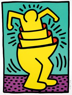 Sehr Keith Haring art - Google Search | My Luv Fur Art | Pinterest  CG71