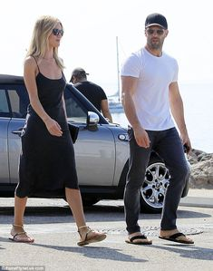 Malibu Rosie: Jason Statham, 49, and Rosie Huntington-Whiteley, 29, radiated star power in Malibu Sunday as they headed for an early breakfast